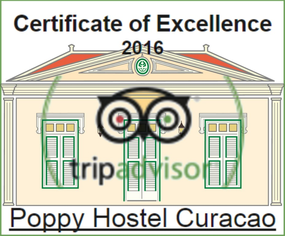 TripAdvisor 2016 Certificate of Excellence (Medium)